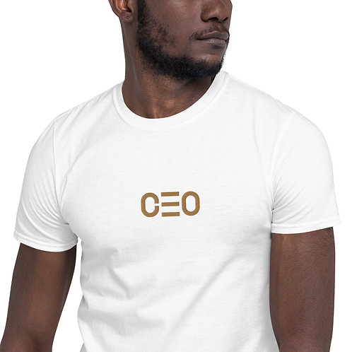 LUSU Designs Short-Sleeve Unisex T-Shirt Collection CEO Gold Label II