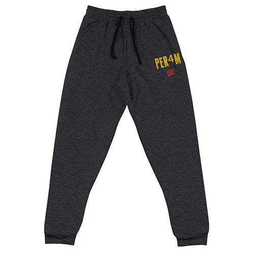 LUSU Designs Unisex Joggers Collection PER4M Fire Label III