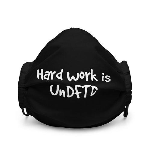 LUSU Designs Premium Face Mask UnDFTD II Blanco Label I