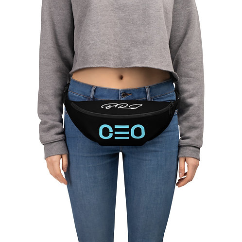 LUSU Designs Fanny Pack Collection CEO Azure Label II