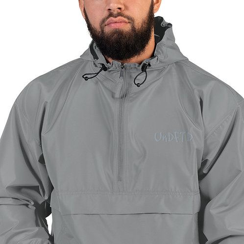 LUSU Designs Embroidered Packable Jacket Collection UnDFTD Platinum Label