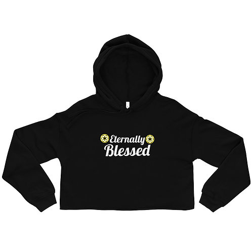 LUSU Designs Crop Hoodie Collection Eternally Blessed Label