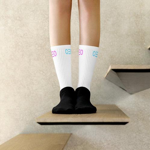 LUSU Designs Sock Collection CEO Combo Label Miami Nights