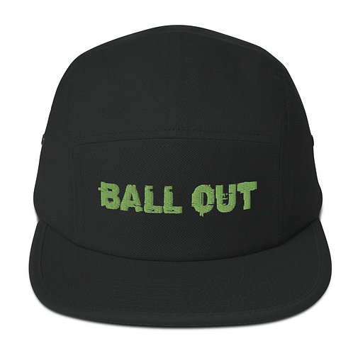 LUSU Desigs 5 Panel Camper Collection Ball Out Kiwi Label
