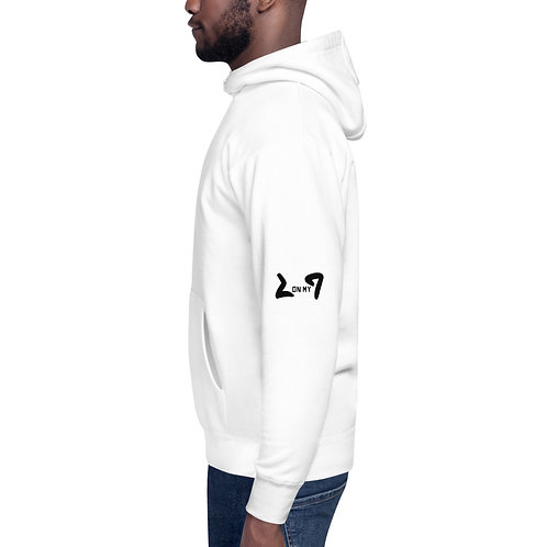 LUSU Designs Unisex Hoodie Collection On My Square Noir Label V