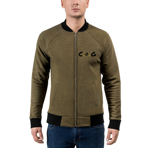 LUSU Designs Bomber Jacket Collection CoG Noir Label