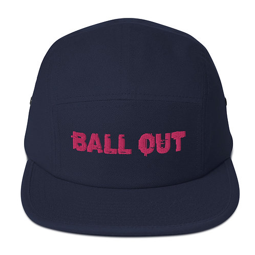 LUSU Desigs 5 Panel Camper Collection Ball Out Flamingo Label