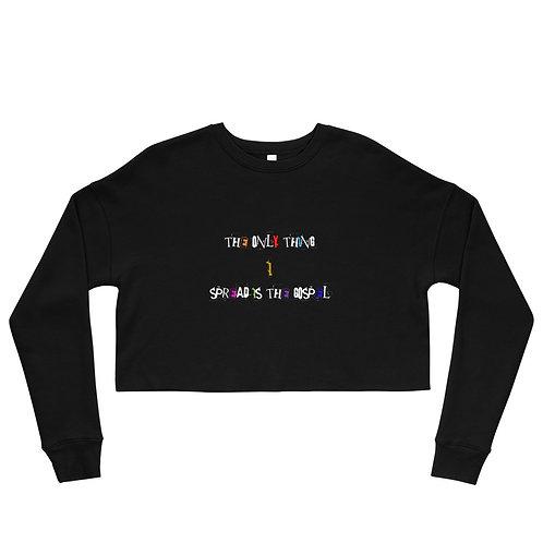 LUSU Designs Crop Sweatshirt Collection Gospel I Label I