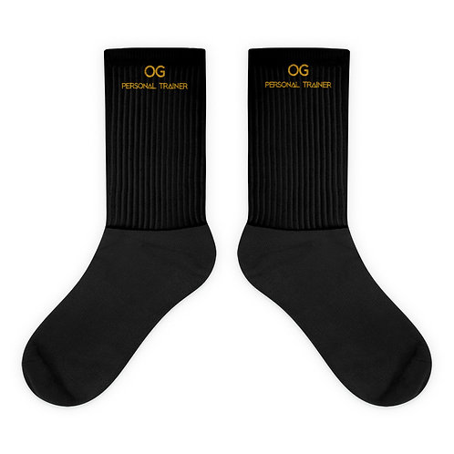 LUSU Designs Sock Collection Fatherhood OG Personal Trainer Midas Label
