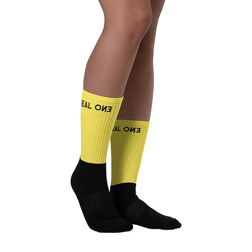 LUSU Designs Sock Collection Real One Label XIII