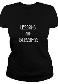 Lessons and Blessings Label I Womens Tee