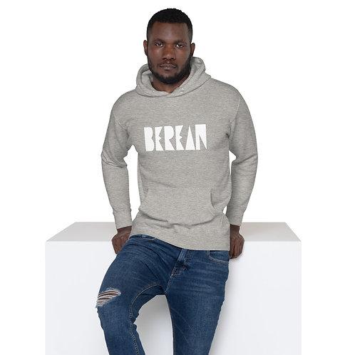 LUSU Designs Unisex Hoodie Collection Berean Blanco Label II