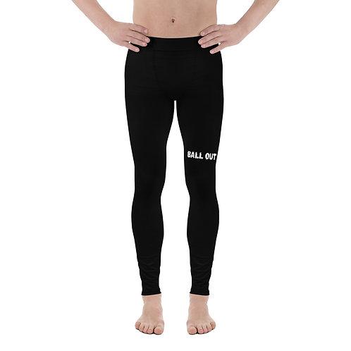 LUSU Designs Men's Leggings Ball Out Blanco Label II