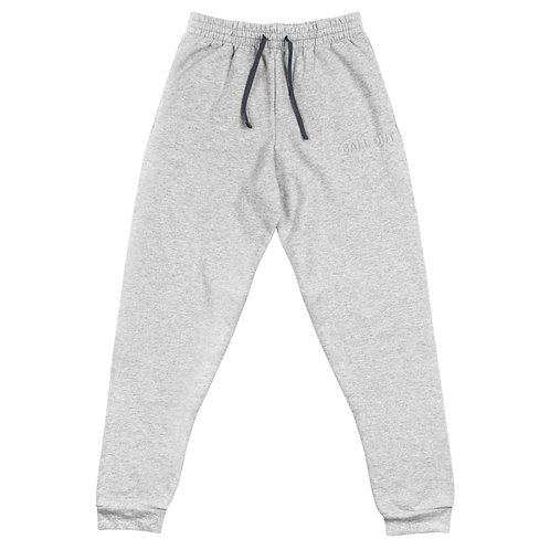 LUSU Designs Unisex Joggers Collection Ball Out Blanco Label II