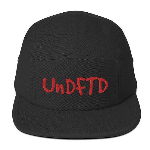 LUSU Designs Five Panel Cap Collection UnDFTD Heatwave Label