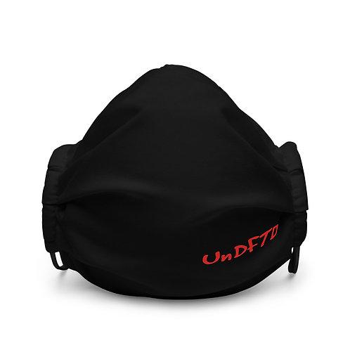 LUSU Designs Premium Face Mask UnDFTD Fire Label III