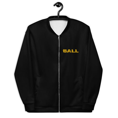 LUSU Designs Unisex Bomber Jacket Collection Ball Out Combo Label II