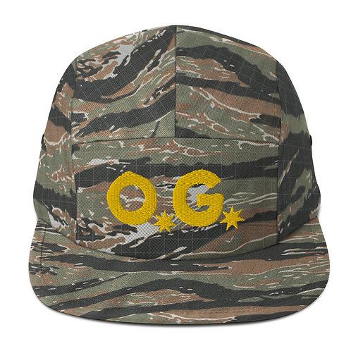 LUSU Designs Five Panel Cap Collection OG Midas Label