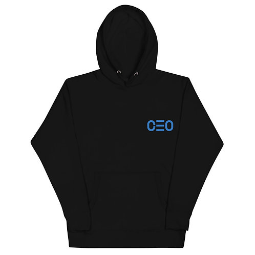 LUSU Designs Unisex Hoodie Collection CEO 2 Azure Label