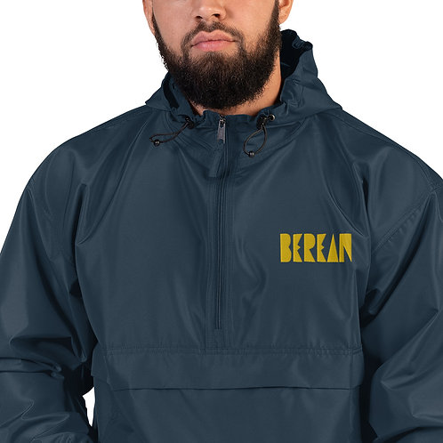 LUSU Designs Embroidered Packable Jacket Collection Berean Midas Label