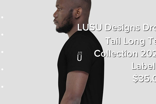 LUSU Designs Drop Tail Long Tee Collection 2020 Label V