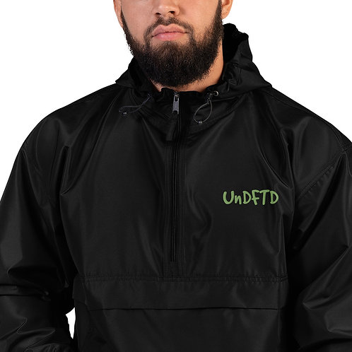 LUSU Designs Embroidered Packable Jacket Collection UnDFTD Kiwi Label