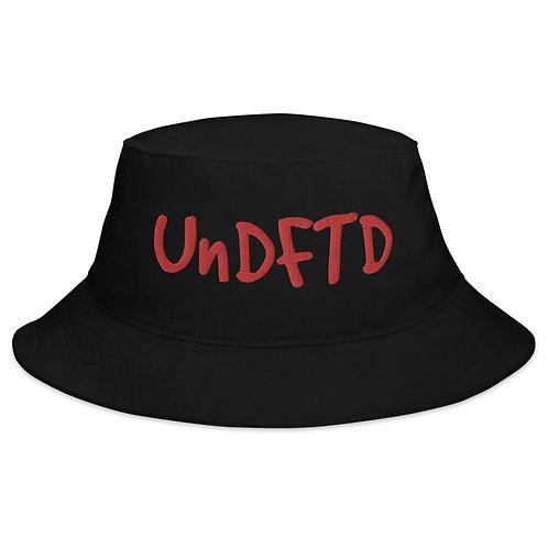 LUSU Designs Bucket Hat Collection UnDFTD Fire Label