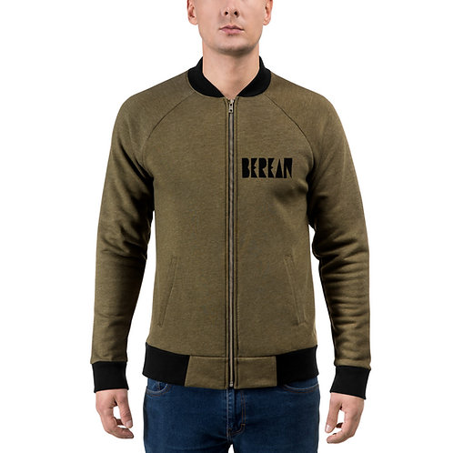 LUSU Designs Bomber Jacket Collection Berean Noir Label