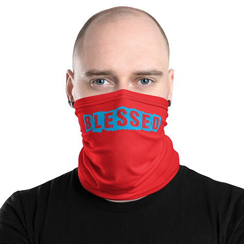 LUSU Designs Neck Gaiter Blessed Carolina Label IV