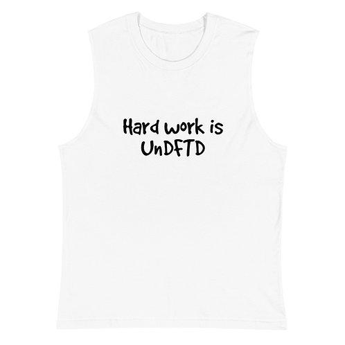 LUSU Designs Muscle Shirt Collection UnDFTD Noir Label I