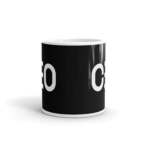 LUSU Designs Mug Collection CEO White Label III