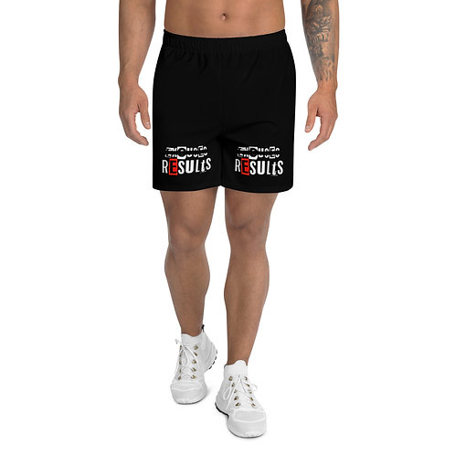 LUSU Designs Men's Athletic Long Shorts Collection Results Fire II Label III