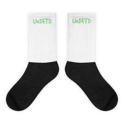 LUSU Designs Sock Collection UnDFTD Green Label