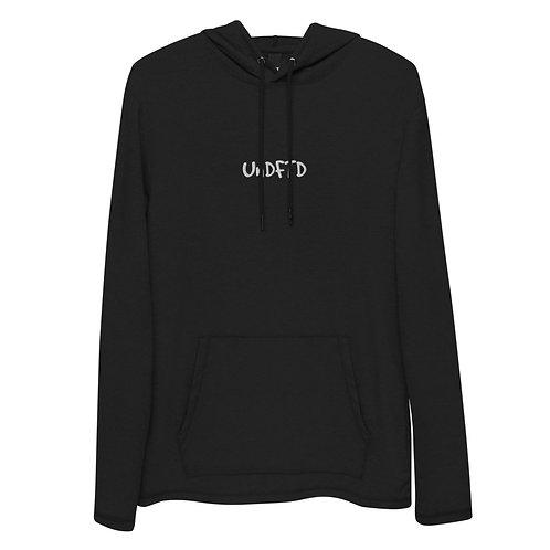 LUSU Designs Unisex Lightweight Hoodie Collection UnDFTD Blanco Label II
