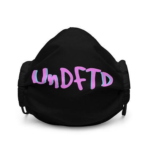 LUSU Designs Premium Face Mask UnDFTD Miami Nights Label