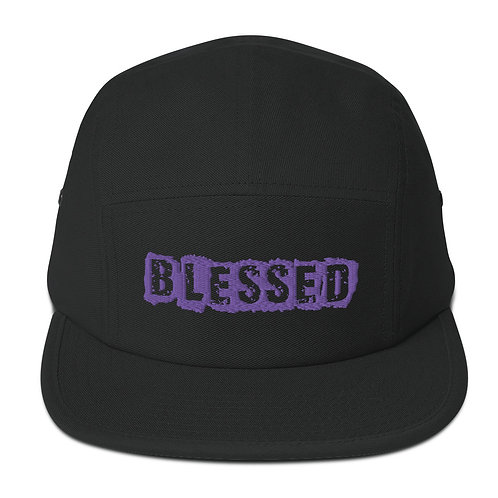 LUSU Designs 5 Panel Camper Collection Blessed Purple Label