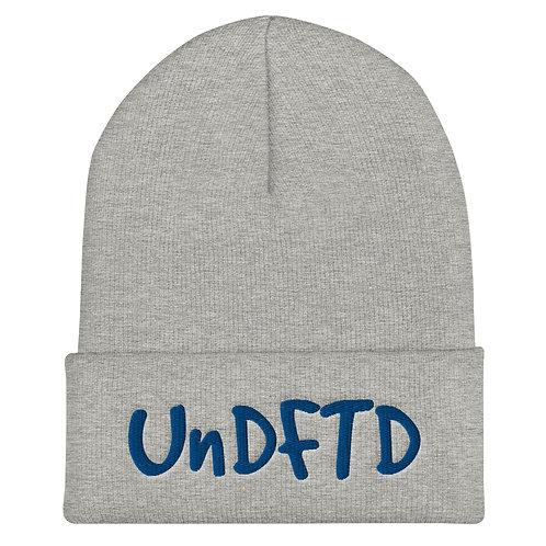 LUSU Designs Cuffed Beanie Collection UnDFTD Royal Label