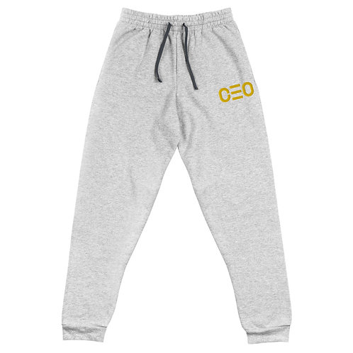 LUSU Designs Unisex Joggers CEO Gold Label
