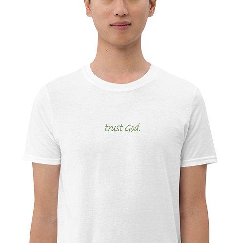 LUSU Designs S/S Unisex T-Shirt Collection Trust God. Kiwi Label II