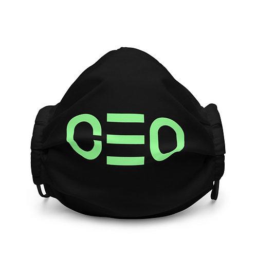 LUSU Designs Premium Face Mask CEO Kiwi Label