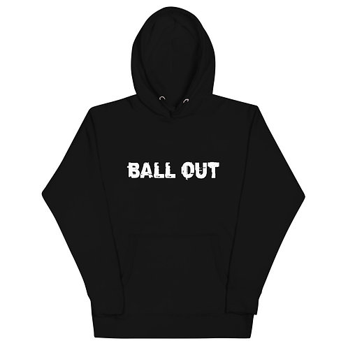 LUSU Designs Unisex Hoodie Collection Ball Out Blanco Label