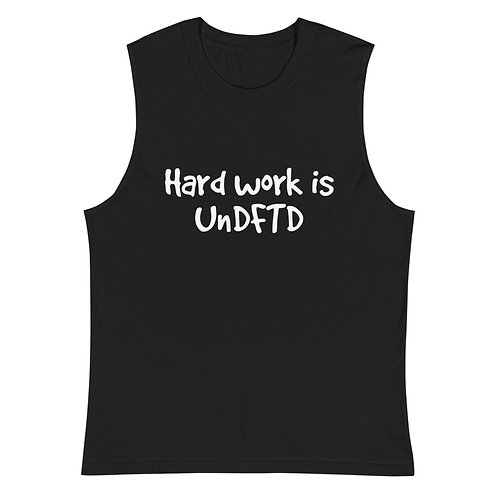 LUSU Designs Muscle Shirt Collection UnDFTD Blanco Label II