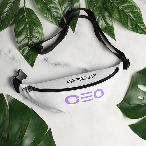 LUSU Designs Fanny Pack Collection CEO Lavender Label