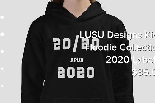 LUSU Designs Kids Hoodie Collection 2020 Label II