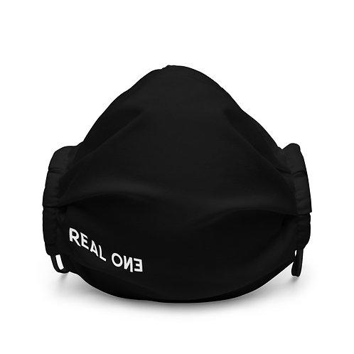 LUSU Designs Premium Face Mask Real One Blanco Label II