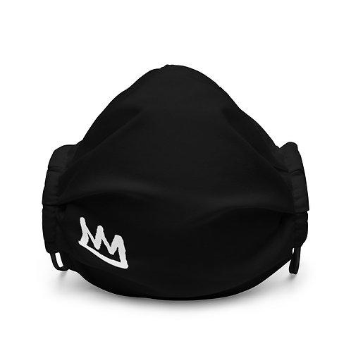 LUSU Designs Premium Face Mask White Crown Label I