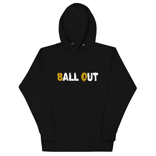LUSU Designs Unisex Hoodie Collection Ball Out Combo Label I