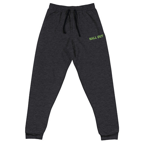 LUSU Designs Unisex Joggers Collection Ball Out Kiwi Label I