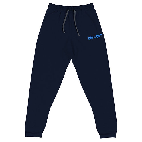 LUSU Designs Unisex Joggers Collection Ball Out Azure Label I