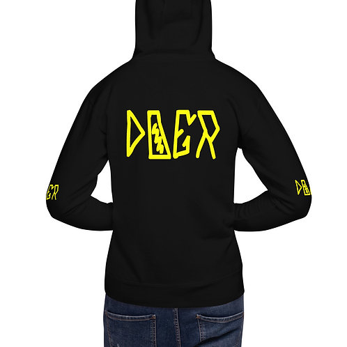 LUSU Designs Unisex Hoodie Collection Doer Canary Label II